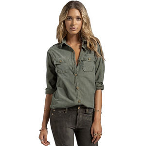Current/Elliot The Perfect Shirt Army Green | 1